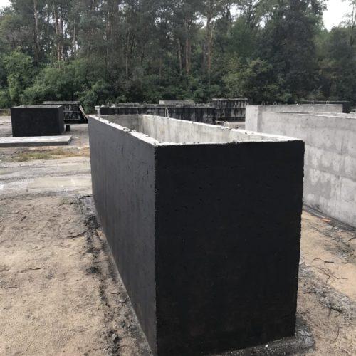 Szambo betonowe - montaż