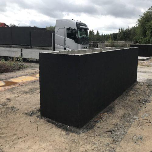 Szamba betonowe - przewóz